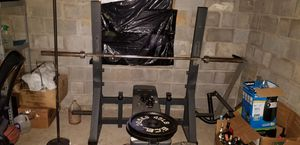 Bench Press with bar for Sale in Lithonia, GA