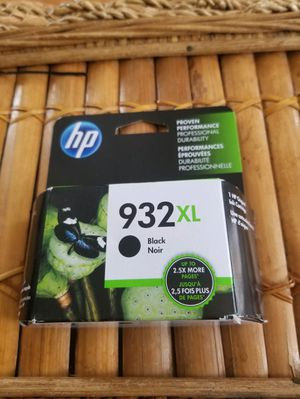 HP 932XL Black Ink Cartridges for Sale in Erie, PA