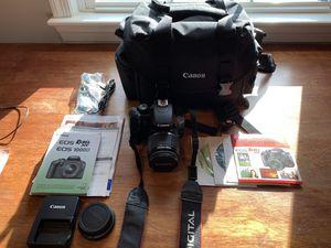 Canon EOS Rebel XS with 18-55mm auto focus lens for Sale in Arlington, VA