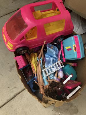 Barbie stuff from the 90's for Sale in Tracy, CA