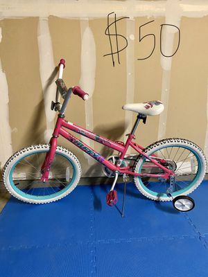 "Huffy sea star girls bike 20"" with training wheels for Sale in Fresno, CA"