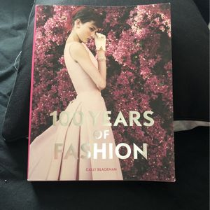 BOOK - 100 Years Of FASHION for Sale in South Brunswick Township, NJ