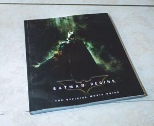 Batman Begins Movie Guide Book for Sale in Perris, CA