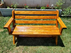 Outdoor patio bench for Sale in Fresno, CA