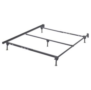 Heavy Duty Queen Metal Bed Frame w/ Center Support for Sale in Raleigh, NC