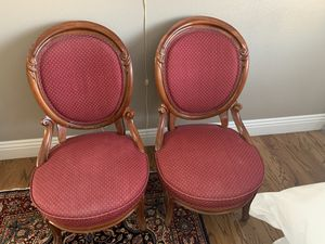 Victorian Chairs - Sold Together for Sale in San Diego, CA