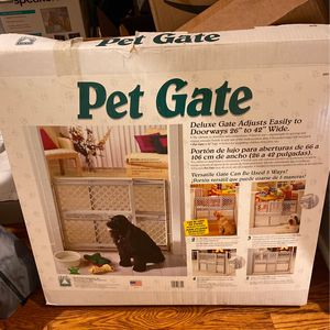 Plastic Pet Gate for Sale in New Haven, CT