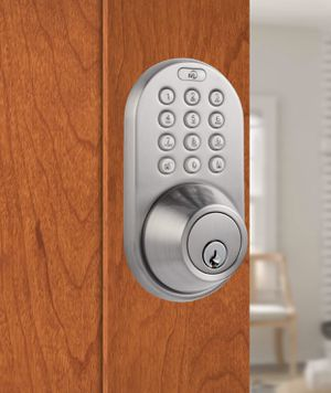 MiLocks DF-02SN Electronic Keyless Entry Touchpad Deadbolt Door Lock for Sale in Los Angeles, CA