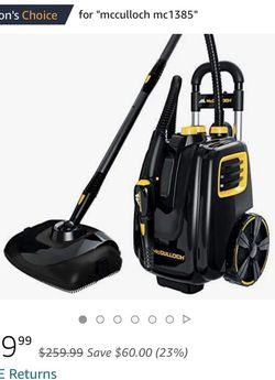 McCulloch Steam Cleaner -MC1385HD for Sale in San Diego,  CA