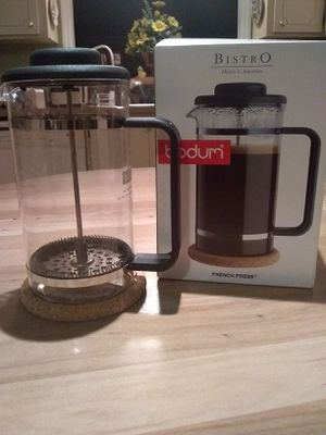 Bodum Bistro 1508 Black French Press coffee maker for Sale in Winter Haven, FL