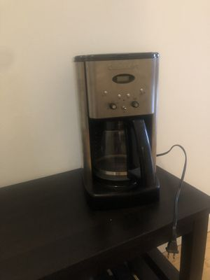 Cuisinart coffee maker for Sale in Seattle, WA