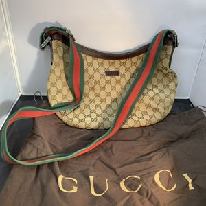 GUCCI Monogram Canvas Shoulder Bag for Sale in Santa Ana, CA