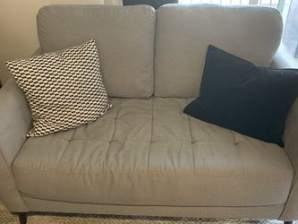 Ashley's Furniture Sofa And Loveseat With Pillows for Sale in Orem,  UT
