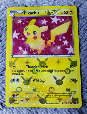 Pikachu RC7/RC25 Legendary Treasures Radiant Collection RARE HOLO Pokemon Card for Sale in Trenton, FL