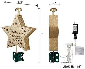 Large LED Star for Christmas Tree for Sale in Los Angeles, CA