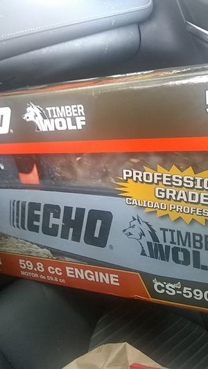 Brand new echo 20 in timberwolf chainsaw cs-590 for Sale in Pawtucket, RI