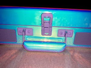 Crosley Urban Outfitters PERFECT CHRISTMAS GIFT exclusive lavender ice iridescent record player for Sale in Buckeye, AZ