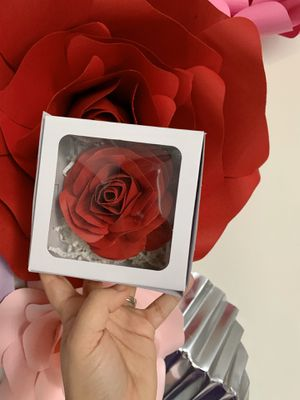 Paper flower rose for Sale in West Palm Beach, FL