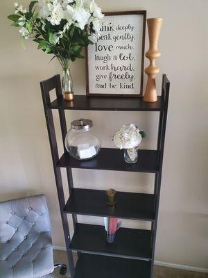5 tiered tall dark lightweight shelf for Sale in Nottingham, MD