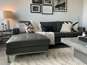 Space Gray Sofa (Accessories NOT Included) for Sale in Arlington, VA