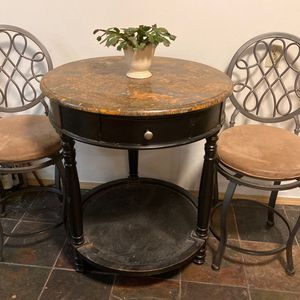 Bistro Table With Two Stools for Sale in Seattle, WA