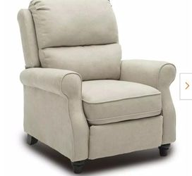 Beige Heavy Duty Modern Recliner Chair with Roll Arm for Sale in El Monte,  CA