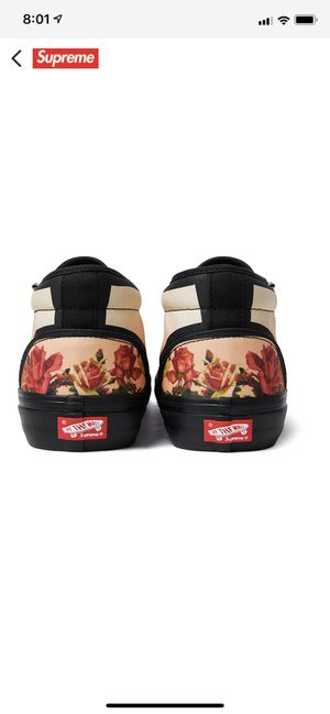SUPREME/VANS DROP 4/11. DEADSTOCK AND AUTHENTIC STRAIGHT FROM THE SUPREME WEBSITE for Sale in Aurora, CO