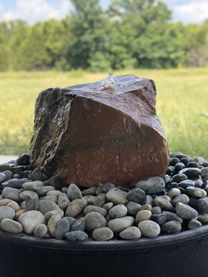 Natural Stone Water Feature/Fountain Rock Bubbler for Sale in Wichita, KS
