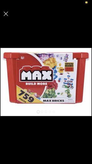 Max Build More Blocks/Bricks/LEGO 759 pieces for Sale in Chandler, AZ