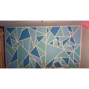 Geometry Accent Wall for Sale in Reading, PA