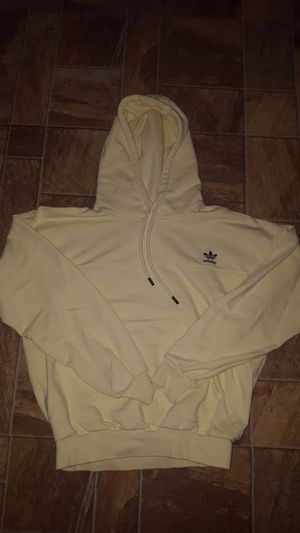 Pastel yellow Adidas hoodie for Sale in Concord, CA