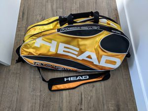 Head Tour Team Tennis Bag Rackets Balls Accessories Control Technology (CCT) for extra racquet protection. 2 compartment each holds 4 - 6 racquets. for Sale in Los Angeles, CA