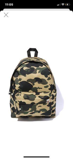 Bape cordura backpack BRAND NEW 100% real for Sale in Hialeah Gardens, FL