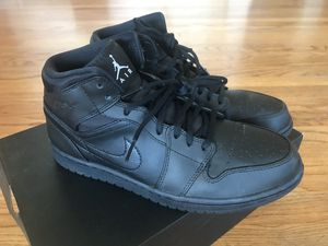 Air Jordan 1 mid top men size 9.5 for Sale in Seattle, WA