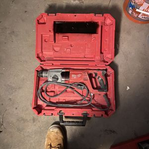 Milwaukee Hammer SDS Hammer Drill for Sale in Boston, MA