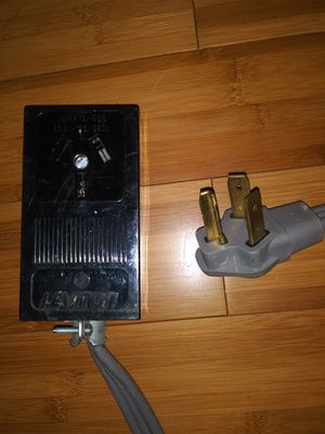 Electric range stove extension cord 6 feet long for Sale in Dania Beach, FL