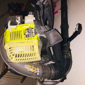 Ryobi Backpack Blower for Sale in Belvedere Park, GA