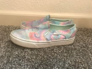 Tie Dye vans slip ons for Sale in San Ramon, CA
