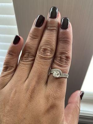14k 3/4ctw Bridal set for Sale in Fort Belvoir, VA