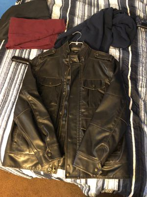 Levi's Leather Jacket Large for Sale in Los Angeles, CA