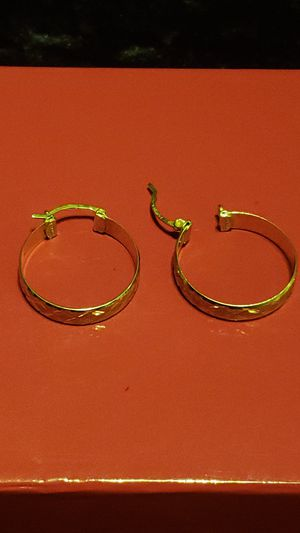 14Kgold DIAMOND cut earrings for Sale in TWN N CNTRY, FL