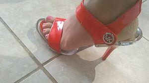 Michael Kors 3 inch strap open toe heels for Sale in West Palm Beach, FL