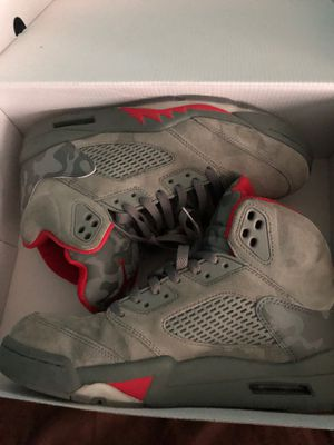Camo BAPE 5s size 9 for Sale in Conyers, GA