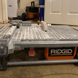 Ridgid Tile Saw for Sale in Snoqualmie Pass,  WA