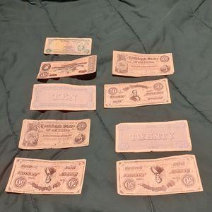 Confederate World War Bills for Sale in Orlando, FL