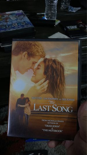 Last song DVD for Sale in Lakewood, CA