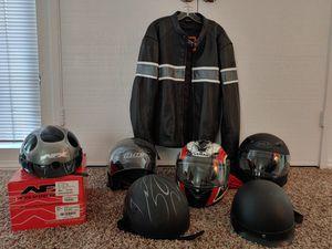 Motorcycle Gear Helmets Jacket for Sale in San Marcos, CA
