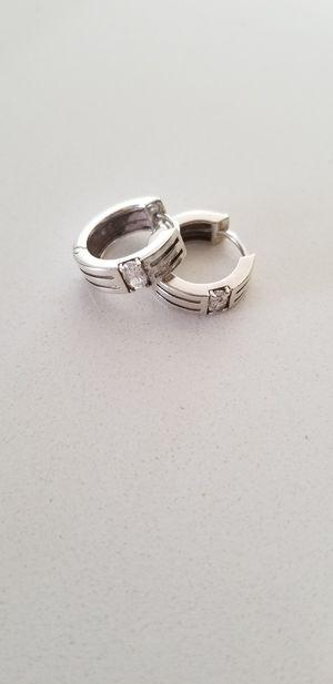 925 Diamond Earrings for Sale in Lakewood, CO
