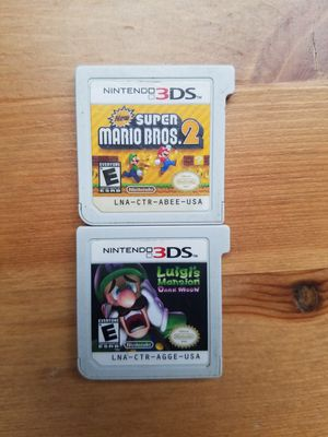 Super Mario bros 2 and Luigi Mansion $25 each for Sale in Phoenix, AZ