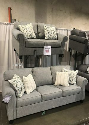 Special for Black Friday ‼ SALES Alandari Gray Living Room Set 305 for Sale in Jessup, MD